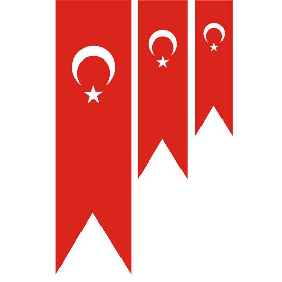 Kirlangic Turk Bayraklari Polyester Turk Bayraklari Rasel